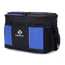 Picnic Insulated Cooler Lunch Bag with Bottle Holder