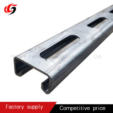 strut channle q235 slotted channel strut