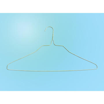 White Powder Metal Shirt Hanger