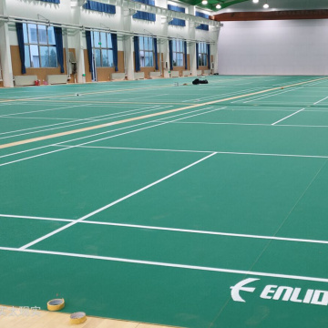 BWF approved badminton court floor mat