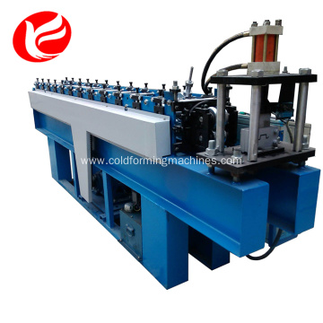 Cold light keel steel profile roll forming machine