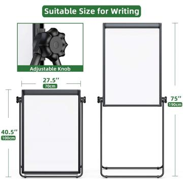 Double Sided Magnetic Writing Adjustable White Board