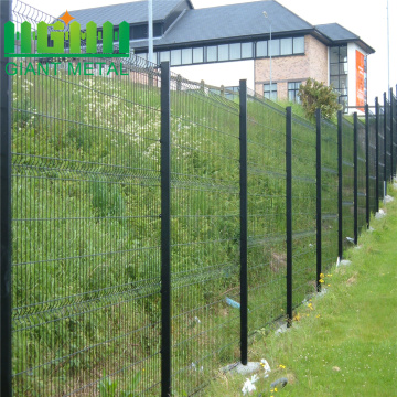 High Performance Welded  Fence with Folds