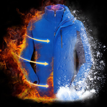 Electric Battery Heated Snowboard Jacket Mens