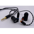 Hi Res IEMs Earphones with Detachable Cable