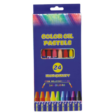 24 Color High Quality Oil Pastels With Color Box