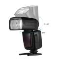 Universal Wireless Camera Flash Light Speed lite GN33 LCD Display Flash Studio for Canon Nikon Sony Olympus Pentax DSLR Cameras