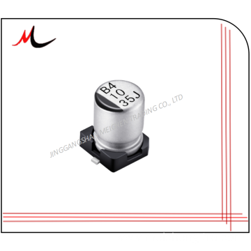 SMD electronic components 220uf 10v aluminum capacitors