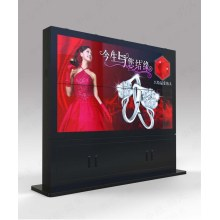 High bright 42 46 55 65 84 inch outdoor lcd HD ad digital single/double sided display signage with 3g/4g module and PC built in