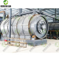 Waste Tyre and Plastic Pyrolysis Recycling Plant