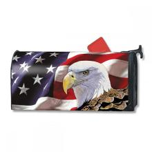 Custom USA Flag Magnetic Mailbox Cover