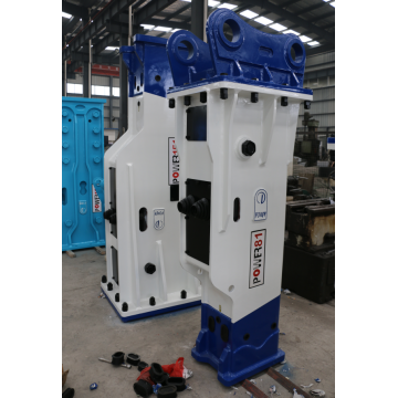 Box type excavator hydraulic breaker