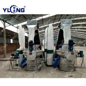 Sawdust Double Layer Ring Die Pellet Machine