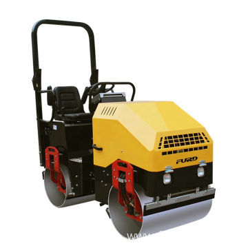 2 ton Double Drum Roller with Vibratory Hydraulic Motor