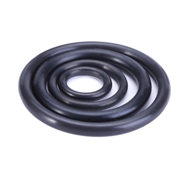 Black Metric Size Rubber Nitrile O-Ring For Plumbing