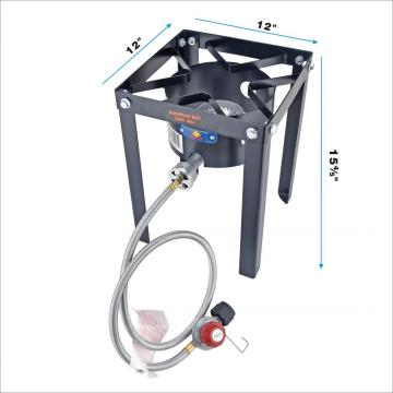 37000 BTU Outdoor Camping Burner Stove With Regulator