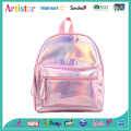 pink, blue, gold laser backpack