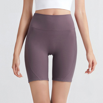 Women's High Waist Tummy Control Yoga Shorts