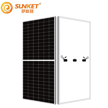 Bifacial high efficiency mono solar panel