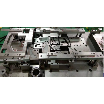 Automobile hinge progressive stamping mould