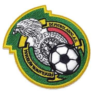 Football Soccer Embroidered Patch Emblem lron on