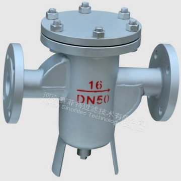 SS or Carbon Steel Industrial Basket Strainers