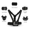 SHOOT Adjustable Harness Chest Strap Head Strap Belt for GoPro Hero 9 8 7 5 Black Xiaomi Yi 4K Sjcam Sj4000 Go Pro 7 8 Accessory