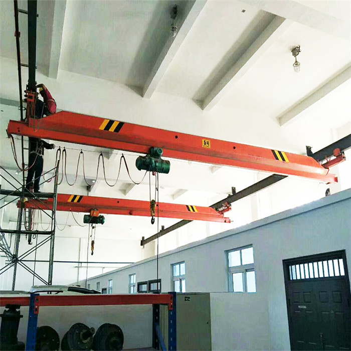 1 ton single beam suspension bridge crane