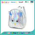 Cartoon white laser backpack