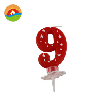 Food grade birthday cake number candles