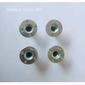 Disc convex point Stainless steel Pallet Nut