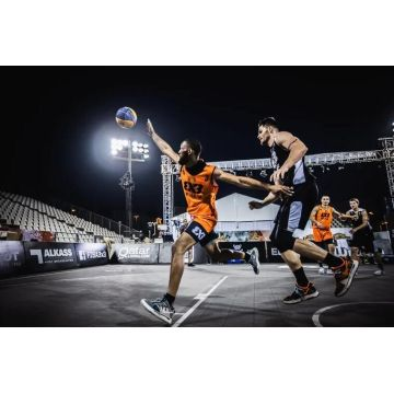FIBA 3X3 approval 3 on 3 basketball floor