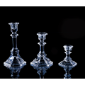 decorative  glass taper candle holders