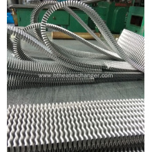 Wavy Fins of Aluminum Radiators