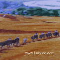 Hand-embroidered desert landscape embroidery gifts