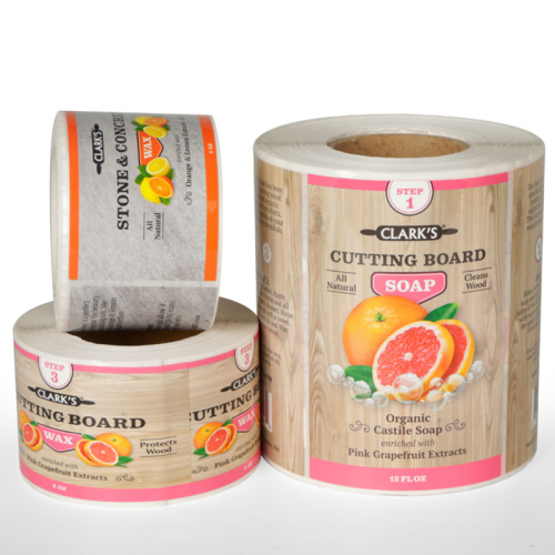 Customized food packaging adhesive sticker printing labels