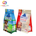 Moisture Proof Reusable Pet Food Plastic Zipper Bag