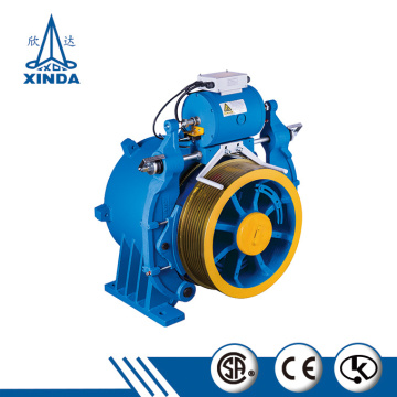 Medium and High Speed Gearless Traction Machine WYJ340