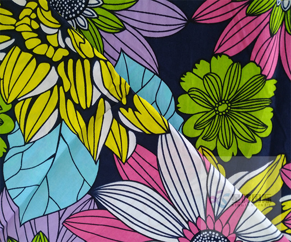 Wax Print Garment Fabric