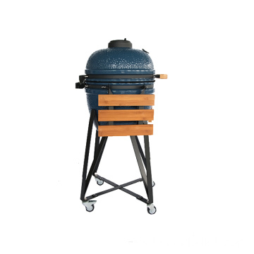 Versatility Outdoor Cooking Green Smoker Kamado