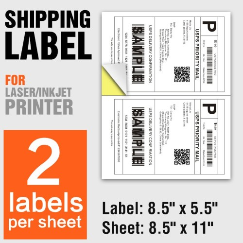 Self Adhesive Laser Printer labels A4 Paper Sticker