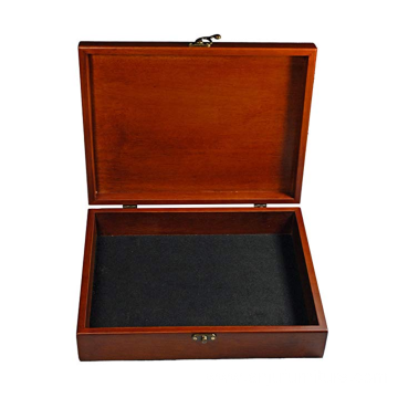 Wholesale classic brown wooden box