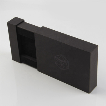Black Wedding Favour Necklace Jewelry Sliding Box