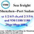 Shenzhen Container Shipping Service to Port Sudan