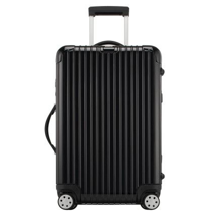 Light hardshell traveler's suitcase