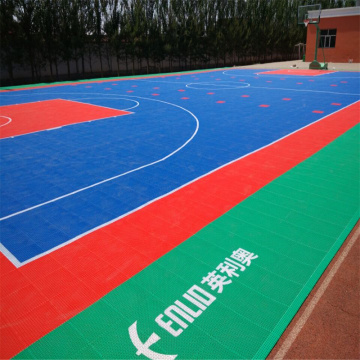Modular Interlocking Court Tiles Basketball Flooring