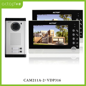 7 inch Color 2 Family Video Intercom