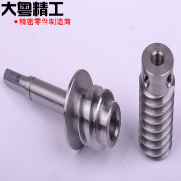 Involutes and Serrations Gear Shaft Splines machining