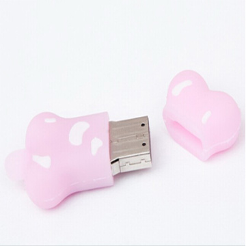 Cartoon Animals Custom Bone USB Flash Drive