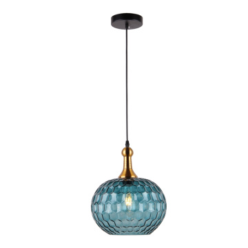 Vintage Modern Lighting Glass Pendant Chandelier